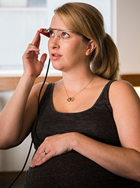 Breastfeeding and Google Glass trial