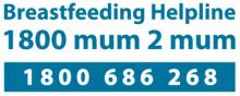 Breastfeeding Helpline 1800 686 268